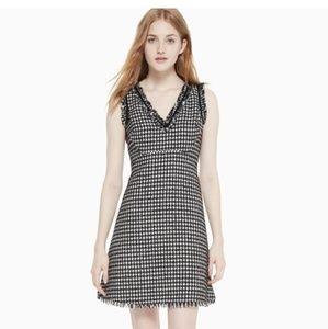 NEW Kate Spade Houndwound Tweed Dress